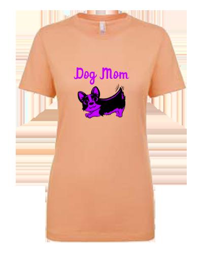 Unisex Gildan T-shirt- Dog Mom Colorful Doggie