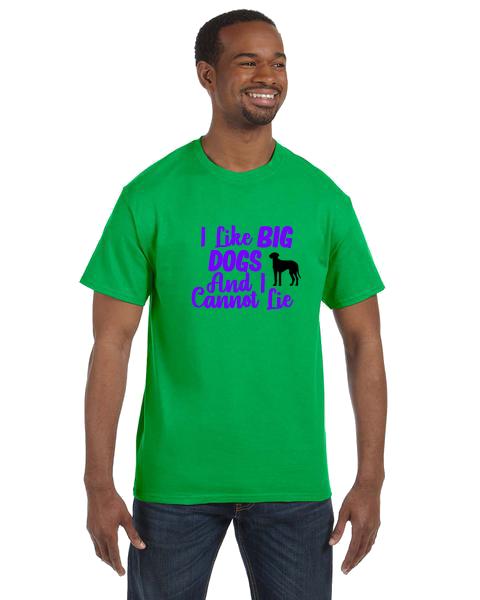 Unisex Gildan T-shirt- Like Big Dogs