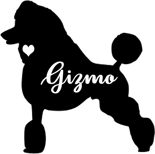 Decal- Poodle