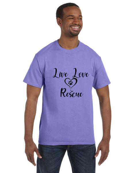 Unisex Gildan T-shirt- Live Love Rescue
