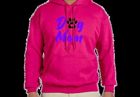 Unisex Hoodie- Dog Mom & Paw