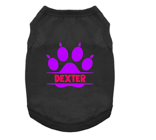Pet Tank- Paw Name 1