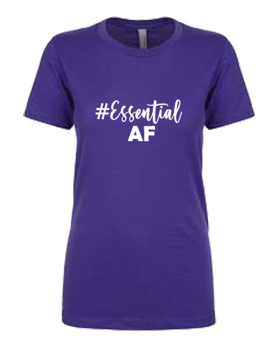 Ladies T-Shirt - Essential AF