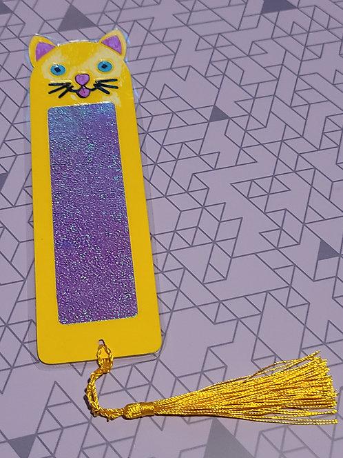 Bookmark- Cat Tassel Tail