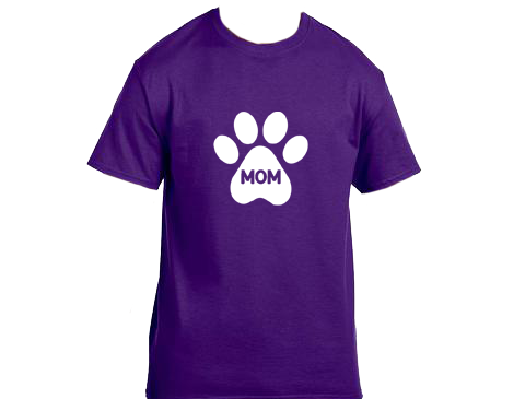 Unisex Gildan T-shirt- Dog Mom Paw