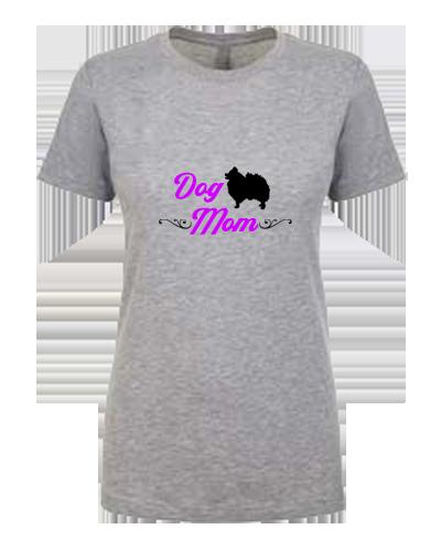 Ladies T-Shirt- Dog Mom Swirls