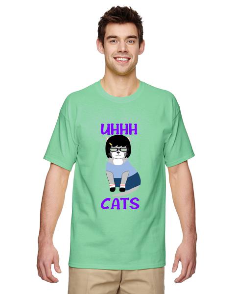 Unisex Gildan T-shirt- Bob's Cats