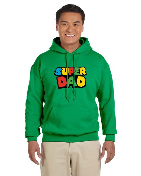 Unisex Hoodie- Super Dad Hero
