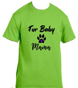 Unisex Gildan T-shirt- Cat Fur Baby Mama