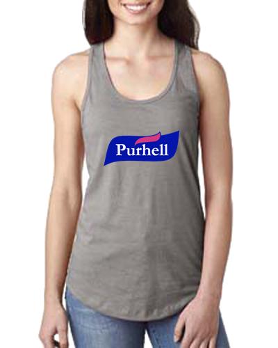 Ladies Tank- Purhell