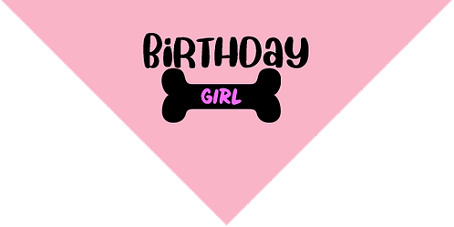 Bandana- Birthday Girl