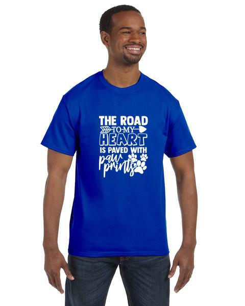 Unisex Gildan T-shirt- Road To My Heart