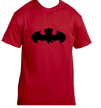 Unisex Gildan T-shirt- Bat Pug