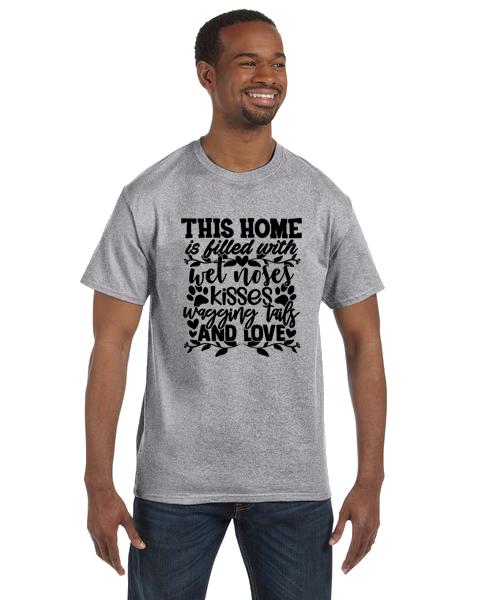 Unisex Gildan T-shirt- Home Filled Love