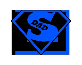 Decal- Super Dad Symbol