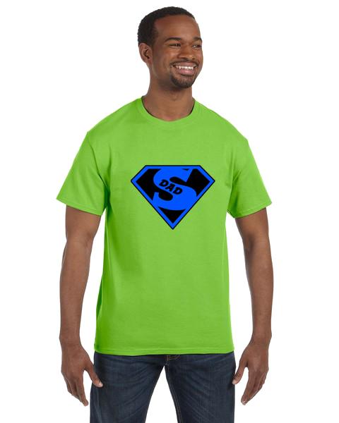 Unisex Gildan T-shirt- Super Dad 1