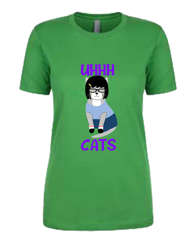 Ladies T-Shirt- Tina Cat