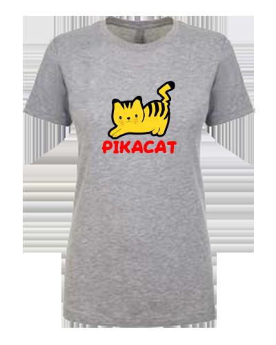 Ladies T-Shirt- Pikacat