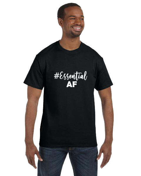Unisex Gildan T-shirt- Essential AF