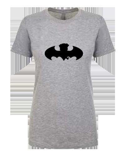 Ladies T-shirt- Bat Pug