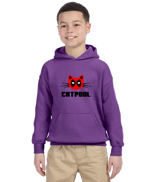 Kids Hoodie- CATPOOL