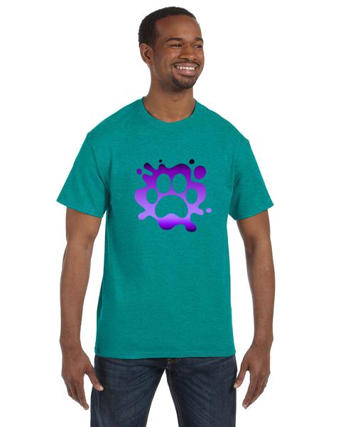 Unisex Gildan T-shirt- Paw Splatter