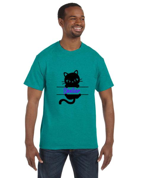 Unisex Gildan T-shirt- Cat Name
