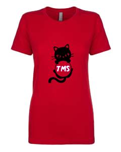 Ladies T-Shirt- Cat Initials