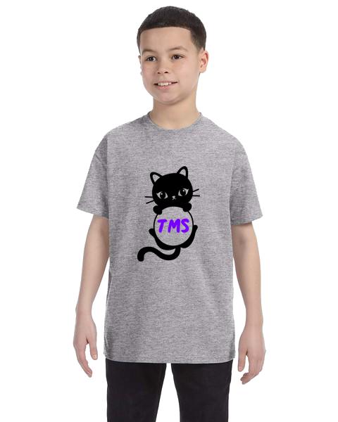 Kids Unisex Tee- Cat Initials