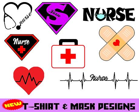 Face Mask- Nurse Design