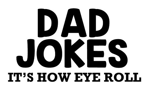 Decal- Dad Jokes