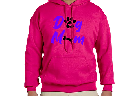 Unisex Hoodie- Dog Mom BonePaw