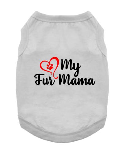 Pet Tank- Heart Fur Mama