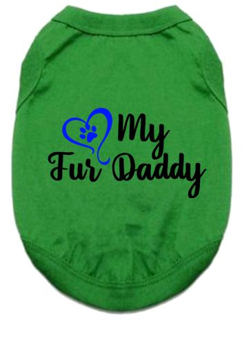 Pet Tank- Heart Fur Daddy
