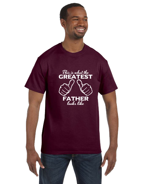 Unisex Gildan T-shirt- Greatest Father