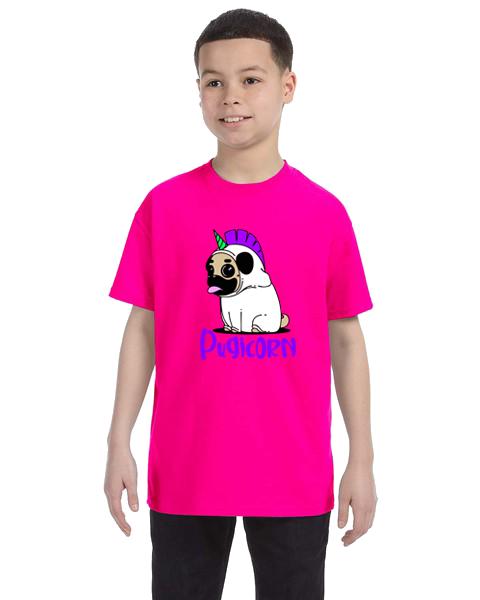 Kids Unisex Tee- Pugicorn