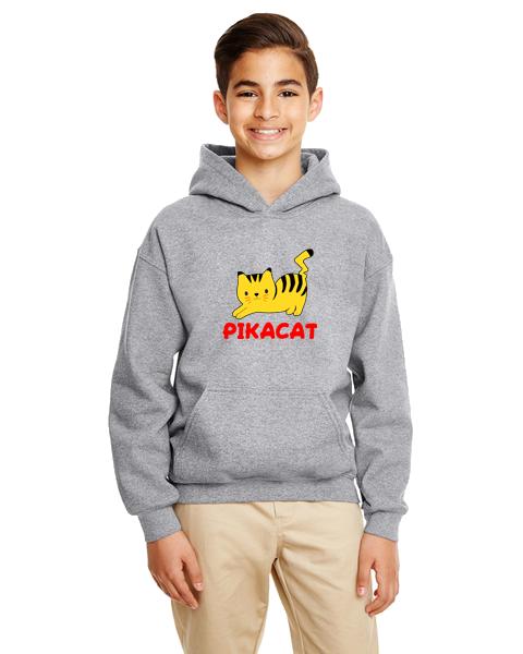 Kids Hoodie- Pikacat