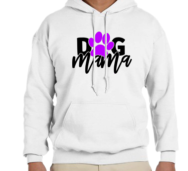 Unisex Hoodie- Dog Mama Paw