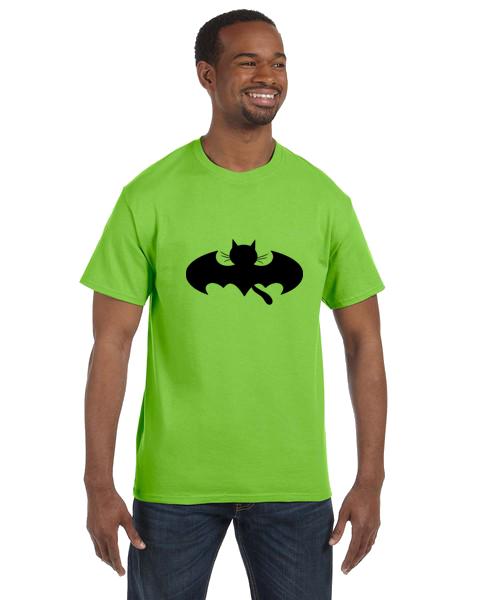 Unisex Gildan T-shirt- Bat Cat