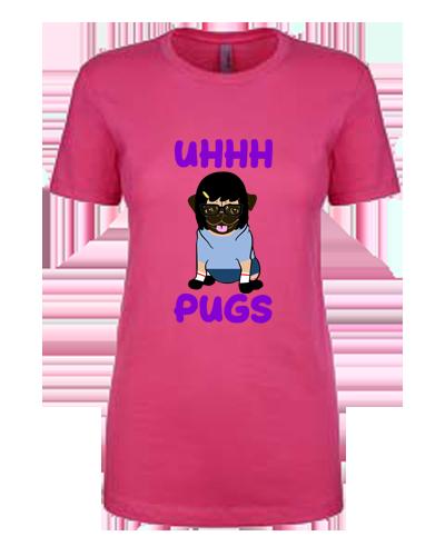 Ladies T-Shirt- Tina Pug