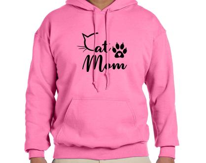 Unisex Hoodie- Cat mom C