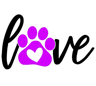 Decal- Love Paw