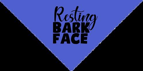 Bandana- Resting Bark Face