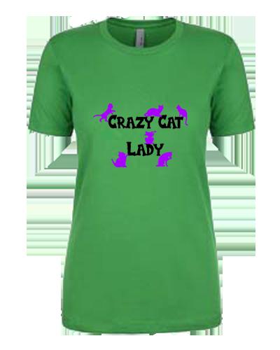 Ladies Tank- Crazy Cat Lady