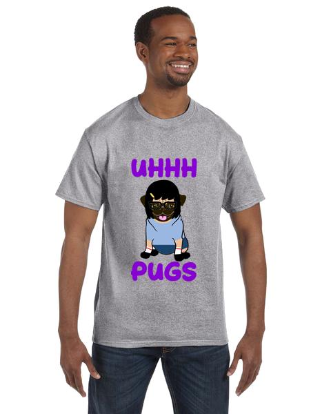 Unisex Gildan T-shirt- Bob's Pugs