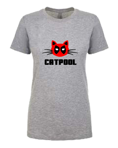 Ladies T-Shirt- CATPOOL