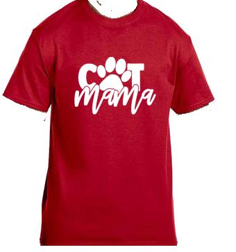 Unisex Gildan T-shirt- Cat Mama Paw
