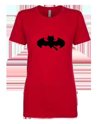 Ladies T-Shirt- Bat Cat