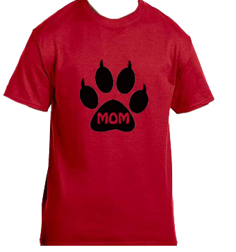 Unisex Gildan T-shirt- Cat Mom Paw