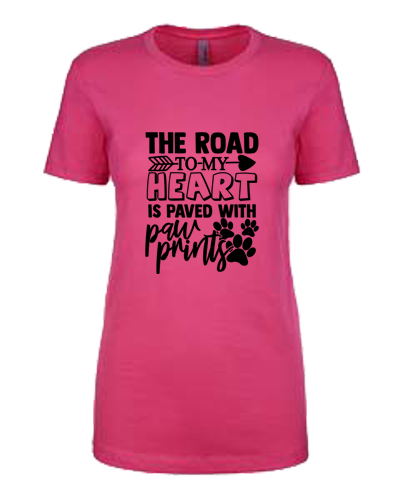 Ladies T-Shirt- Road To My Heart